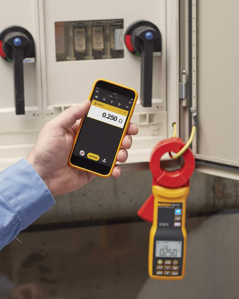 - Earth Ground Clamp Meter 1000V