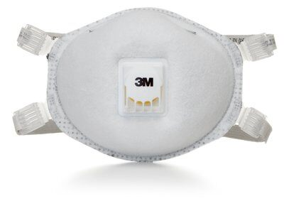 3M 8214 - Particulate Respirator; N95 with Faceseal and Nuisance Level Organic Vapor Relief 80 EA