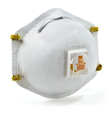 3M-8511Pro-Particulate Respirator n95 2 - Particulate Respirator, N95 40 EA