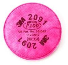 3M 2091/P100 - Filter