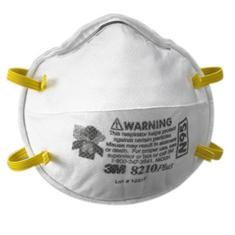 3M 8210Plus - Particulate Disposable Respirator Mask N95 20EA-Box