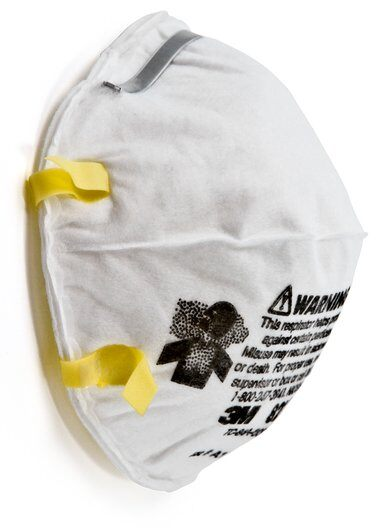 3M 8210 - Standard Size Disposable Respirator Mask 20EA-Box