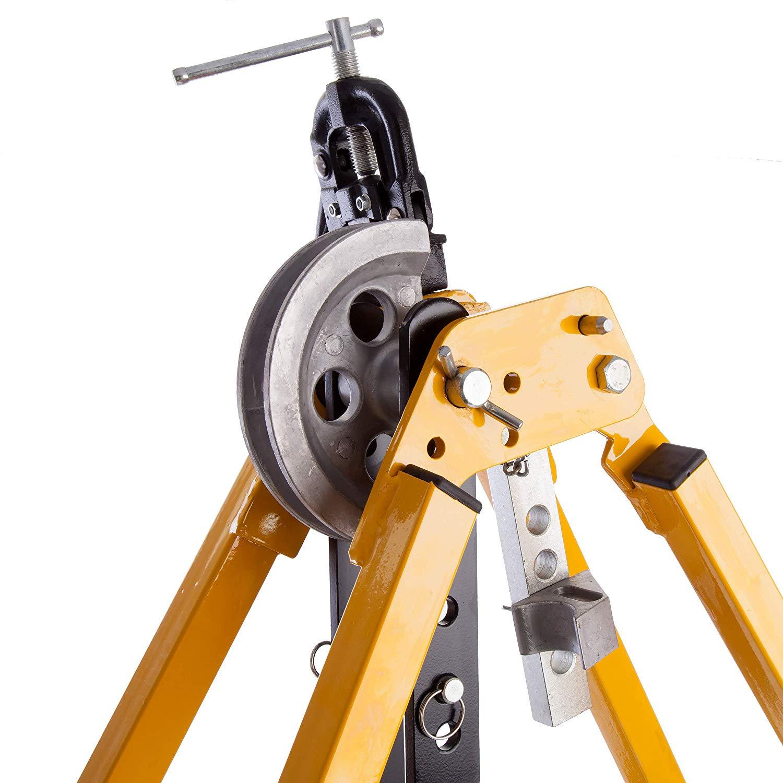 IRWIN T113100D/EL32 - Hilmor Conduit Bending Machine 20/25/32mm formers + Vice