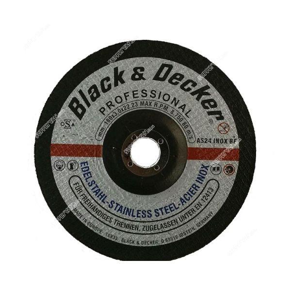 Black & Decker AS17907N-AE - 4-inch S.Steel Cutting Disc