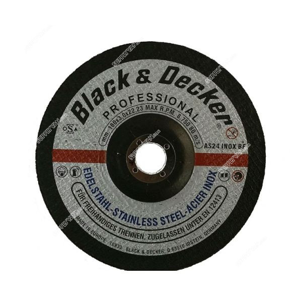 Black & Decker AS17947N-AE - 5-inch S.Steel Cutting Disc