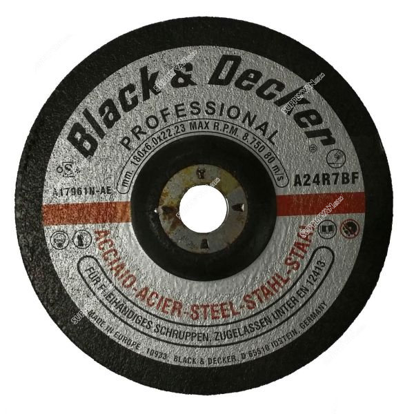 Black & Decker AS17961N-AE - 7-inch S.Steel Grinding Disc