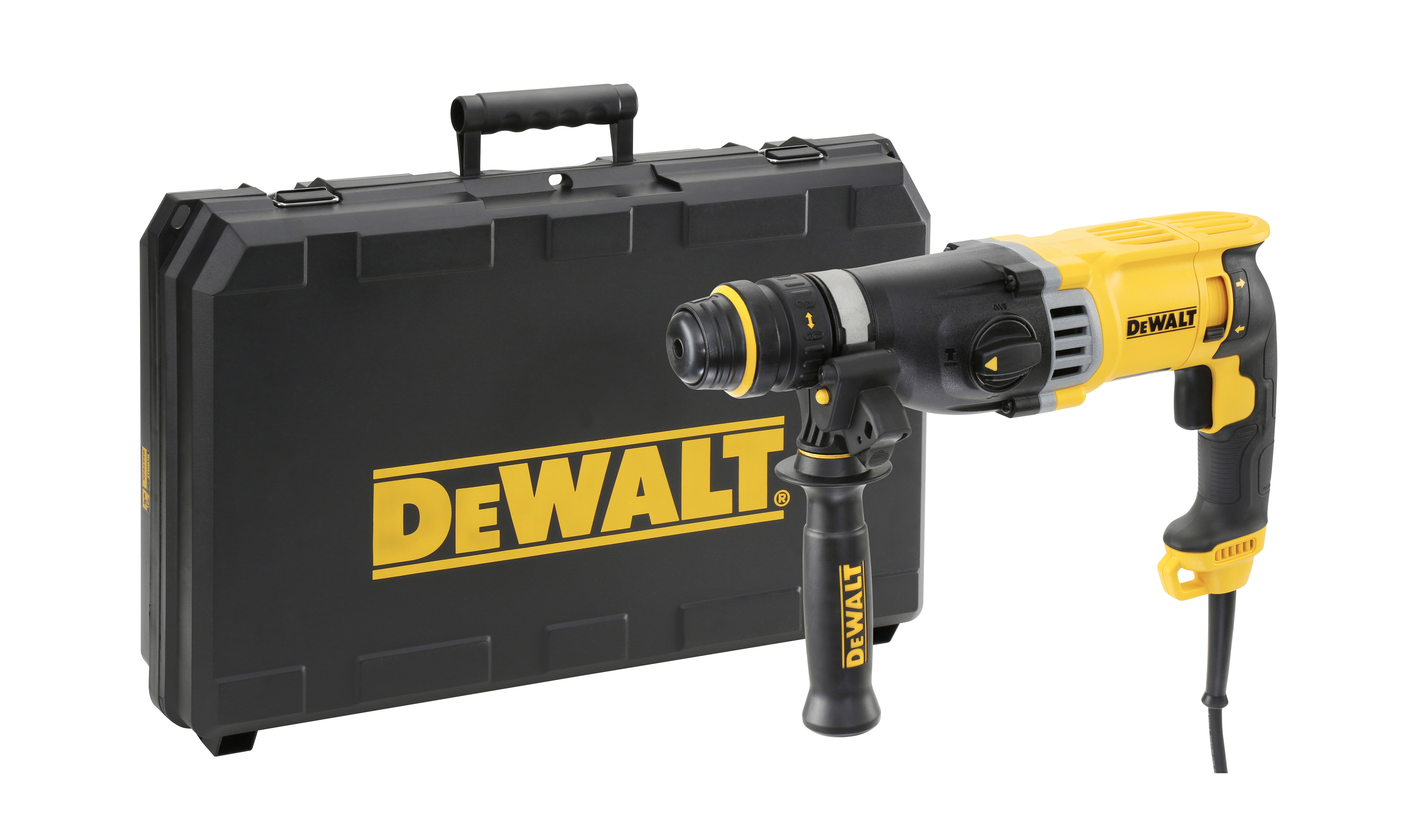 DeWALT D25144K-GB - HD SDS plus Comb. Hammer with QCC; 28mm; 220V