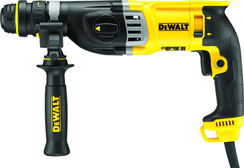DeWALT D25144K-GB - HD SDS plus Comb. Hammer with QCC; 28mm; 220V