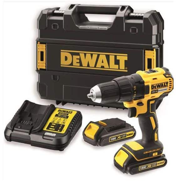 DeWALT DCD777S2-GB - 18v XR Li-Ion Brushless Compact Drill Driver