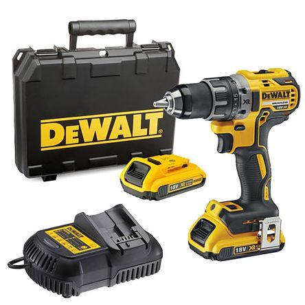 DeWALT DCD791D2-GB - 18V XR Brushless Compact Hammer Drill Driver