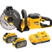 DeWALT DCS690X2-GB - 54V XR Flex Volt 230mm Cut Off Saw Kit
