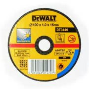 DeWALT DT3440-QZ - Thin Metal Cutting Disc 100 x 16 x 1mm