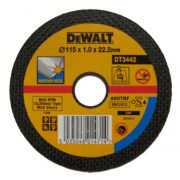 DeWALT DT3442-QZ - Thin Metal Cutting Disc 115 x 22.2 x 1mm