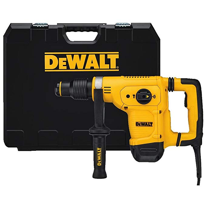 DeWALT D25810K-LX - 5Kg SDS Max Dedicated Chipping Hammer 110V