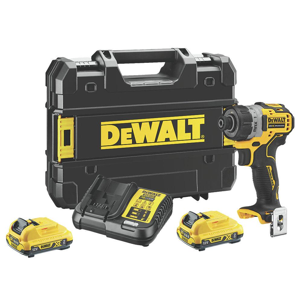 DEWALT_DCF601D2-GB_12V Cordless - 12V XR Brushless Compact Screwdriver