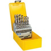 DeWALT DT5929-QZ - 29 piece HSS Bit Set 1-13mm