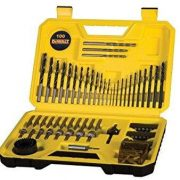 DeWALT DT71563-QZ - 100pc Comb.Drill Bit set 13 Wood Bits / 12Metal Drill