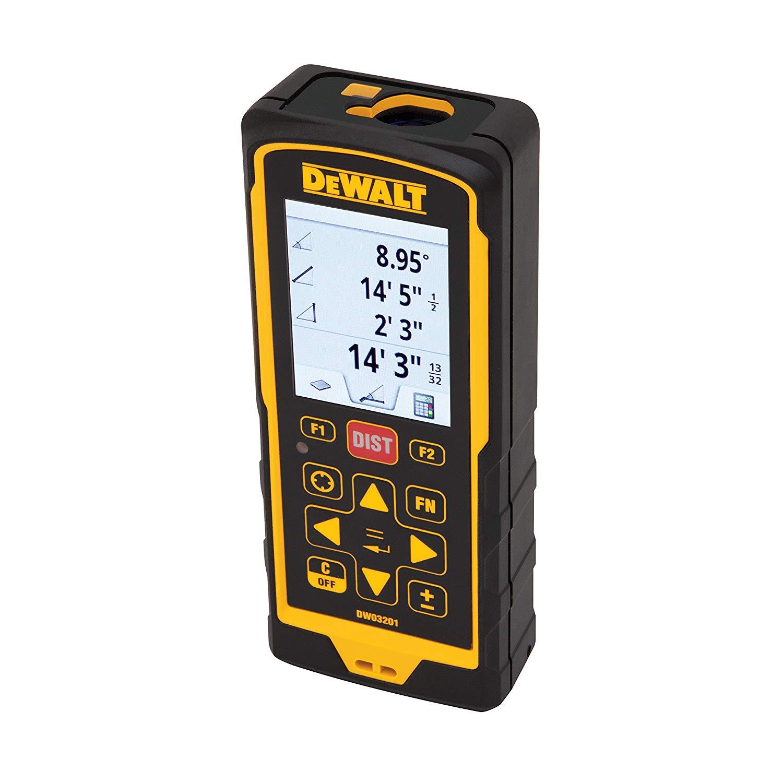 DeWALT DW03201-XJ - Laser Distance Meter200m (660ft)