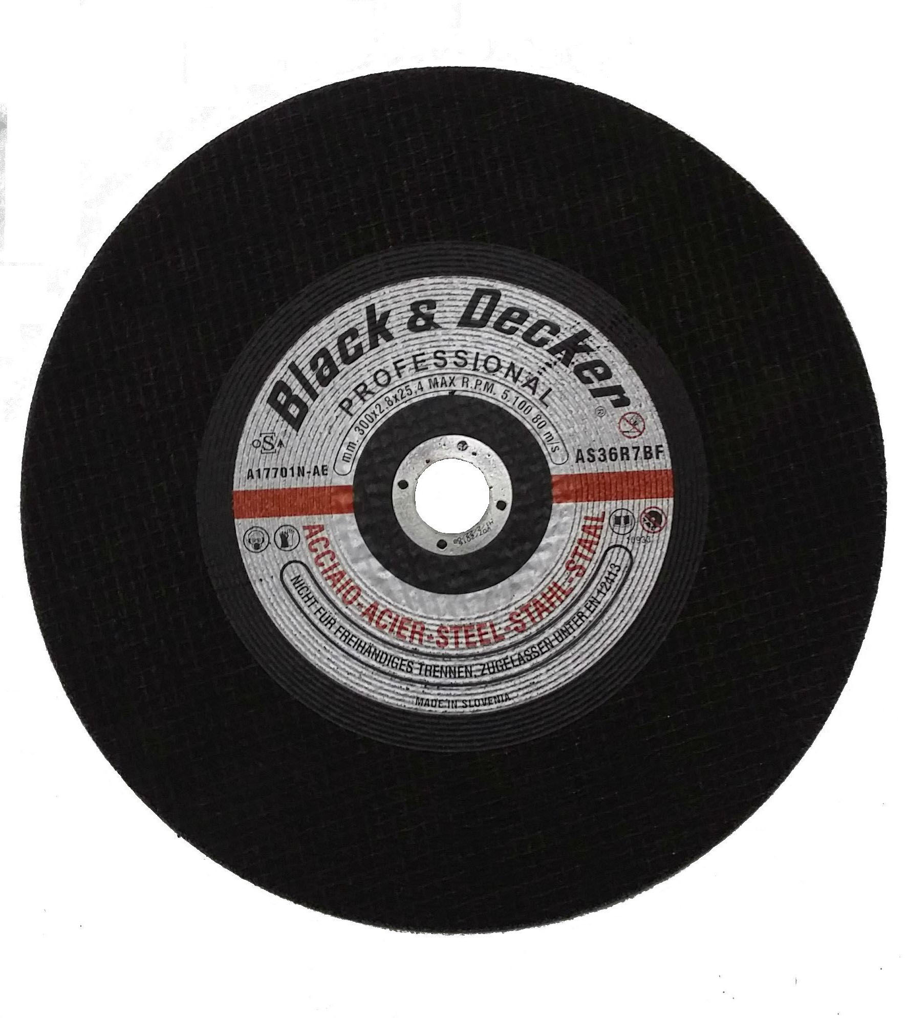 Black & Decker A17701N-AE - 12-inch Metal Cutting Disc