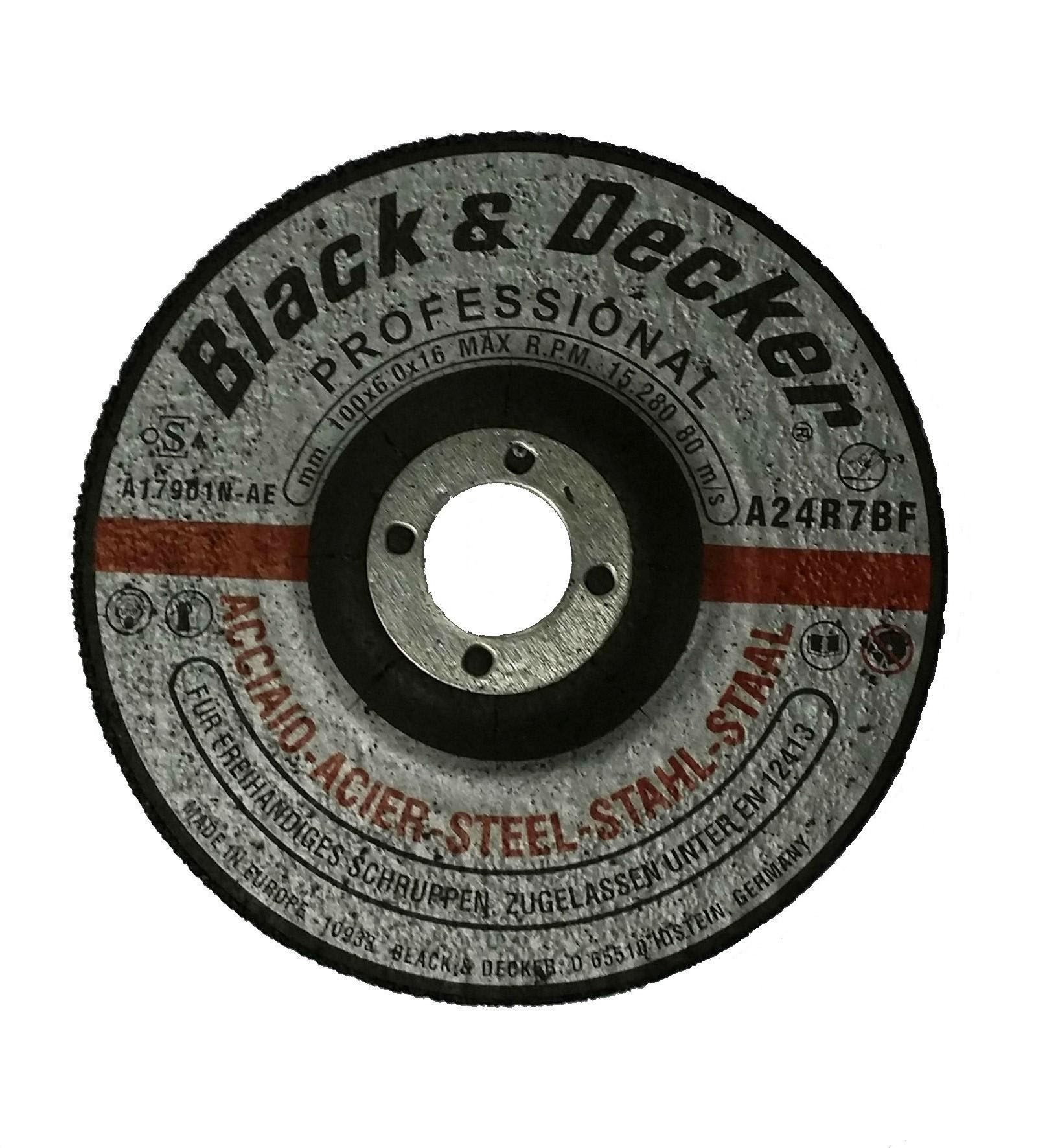 Black & Decker A17921N-AE - 4.5-inch Metal Grinding Disc