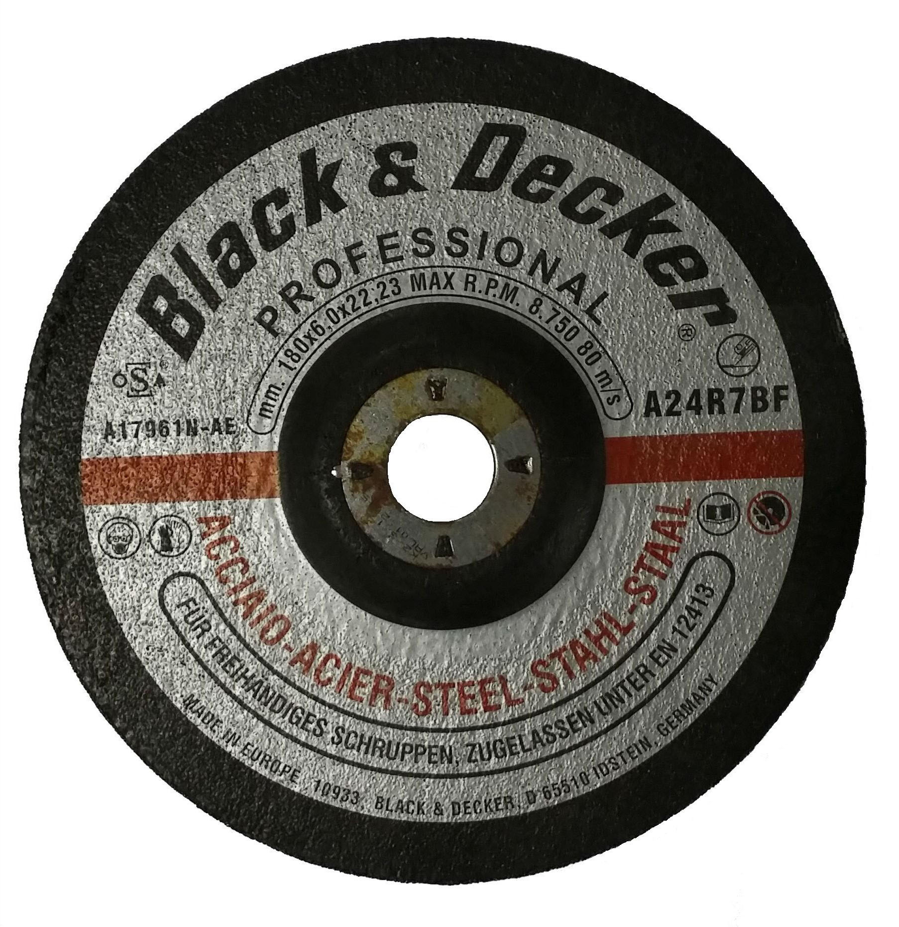 Black & Decker A17981N-AE - 9-inch Metal Grinding Disc