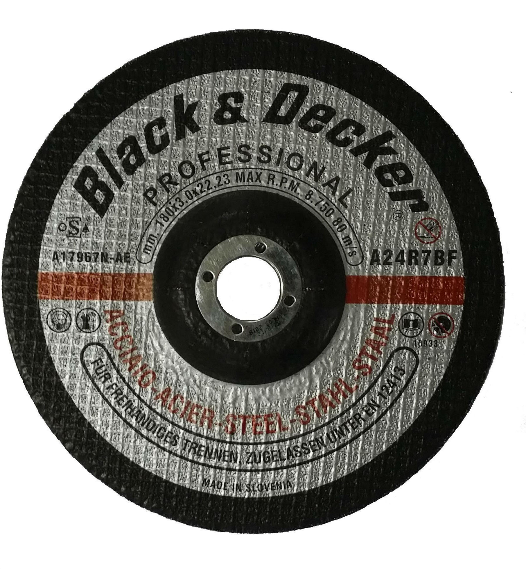 Black & Decker A17967N-AE - 7in Metal Cutting Disc