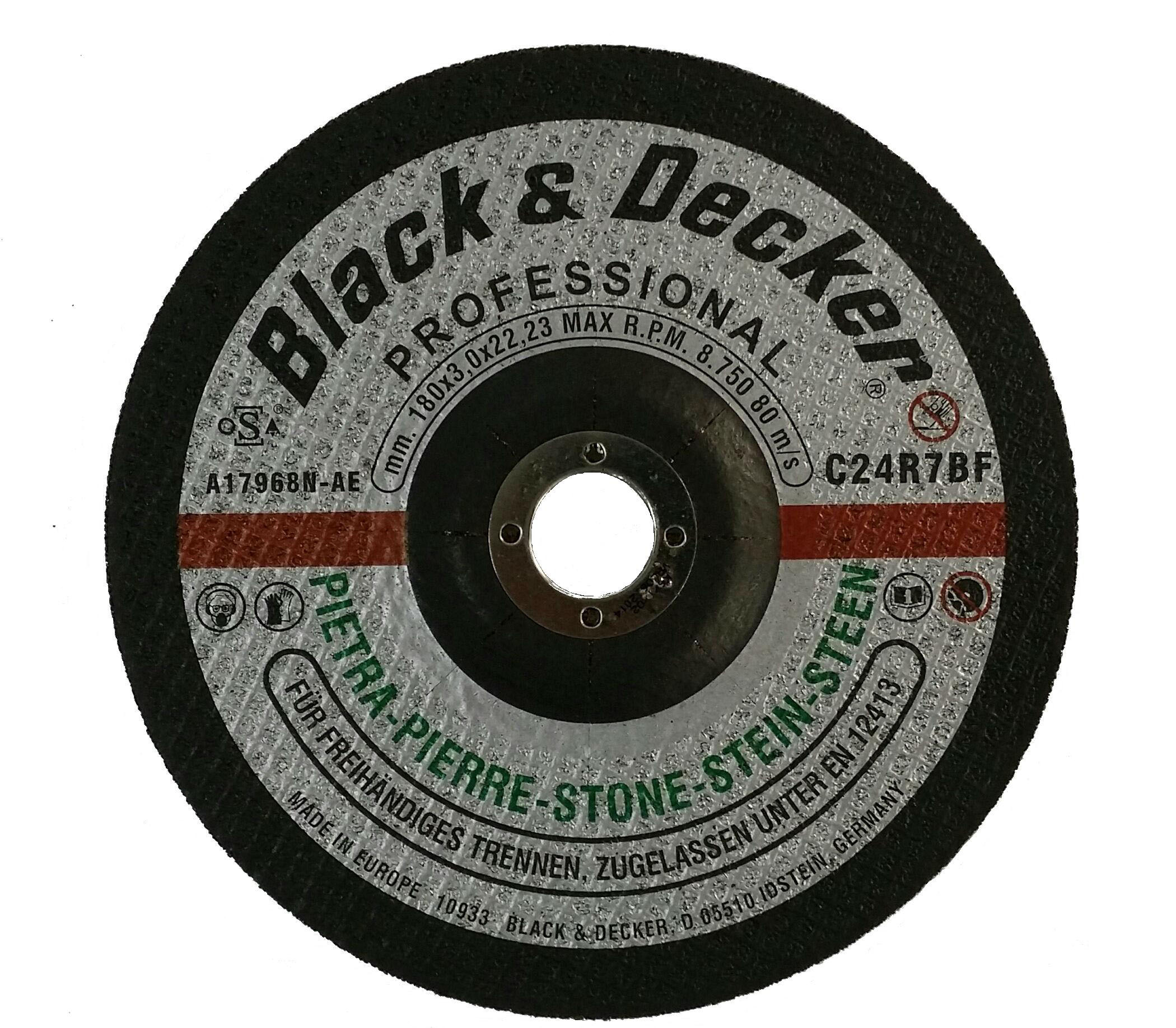 Black & Decker A17968N-AE - 7-inch Stone Cutting Disc