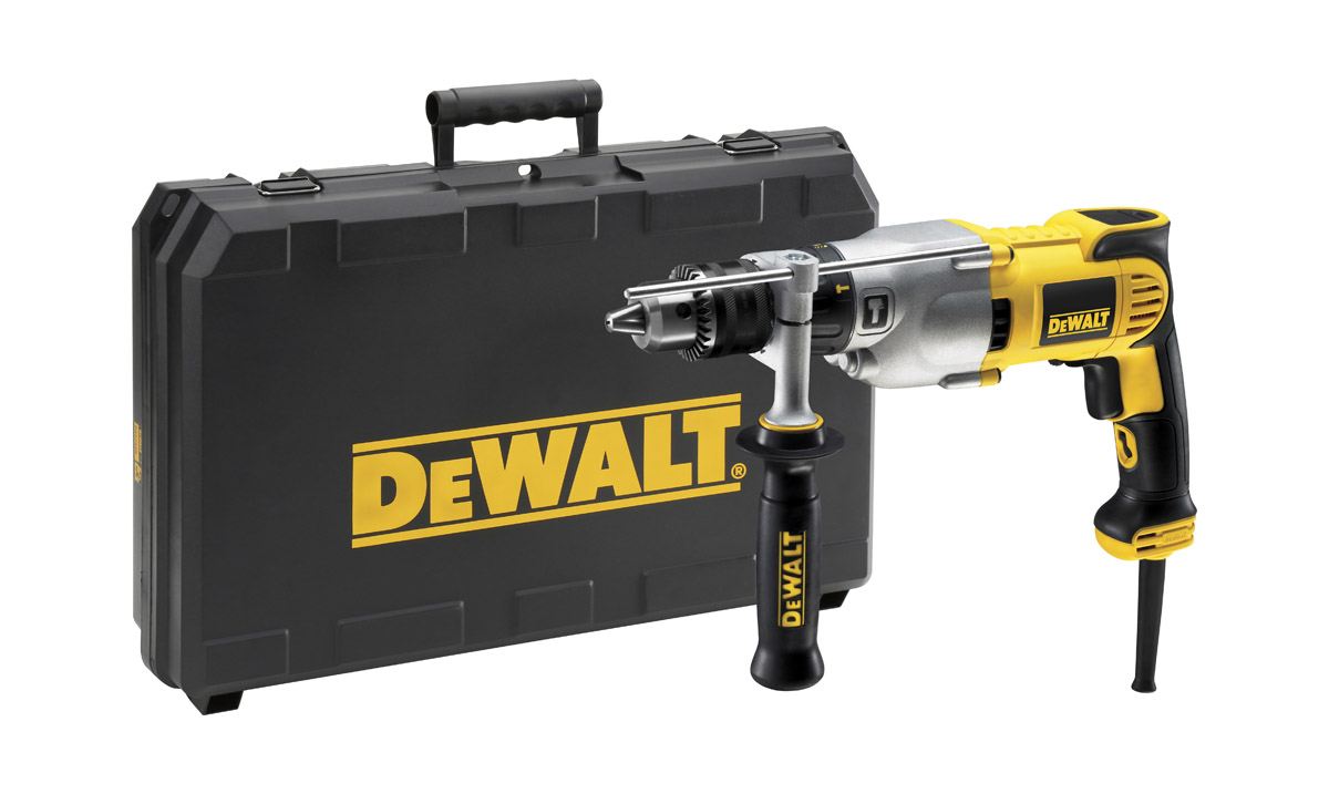 DeWALT D21570K-LX - Dry Diamond Drill 2 Speed 1300 Watt 16mm 110V