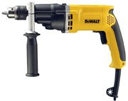 DeWALT D21805-LX - 2 Speed 13mm Percussion Drill with Kitbox 110V