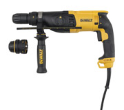 DeWALT D25134K-B4 - H.D SDS Plus Comb. Hammer with QCC; 26mm; 110v