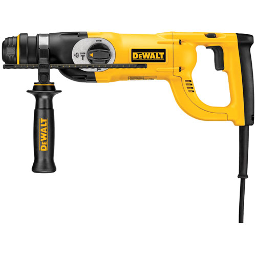 DeWALT D25213-LX - 26mm D-Handle Three Mode SDS Plus Hammer 110V