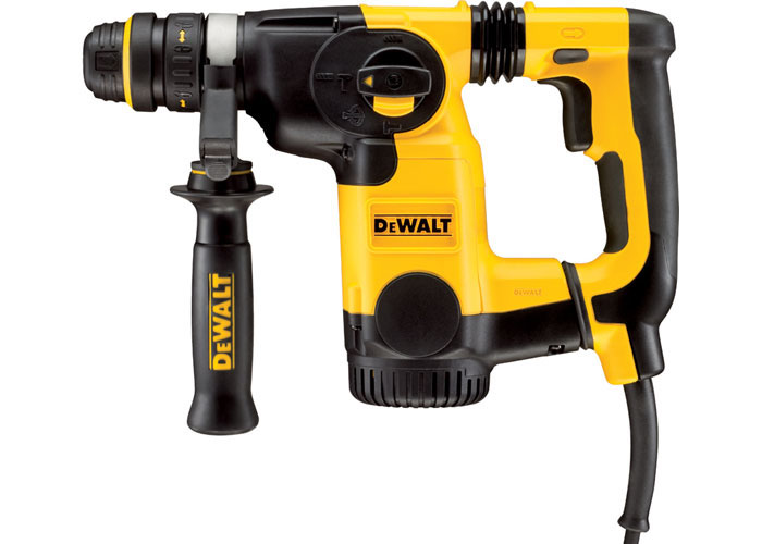 DeWALT D25324K-GB - 26mm L-Shape SDS-Plus Combination Hammer + QCC + AVC 220V