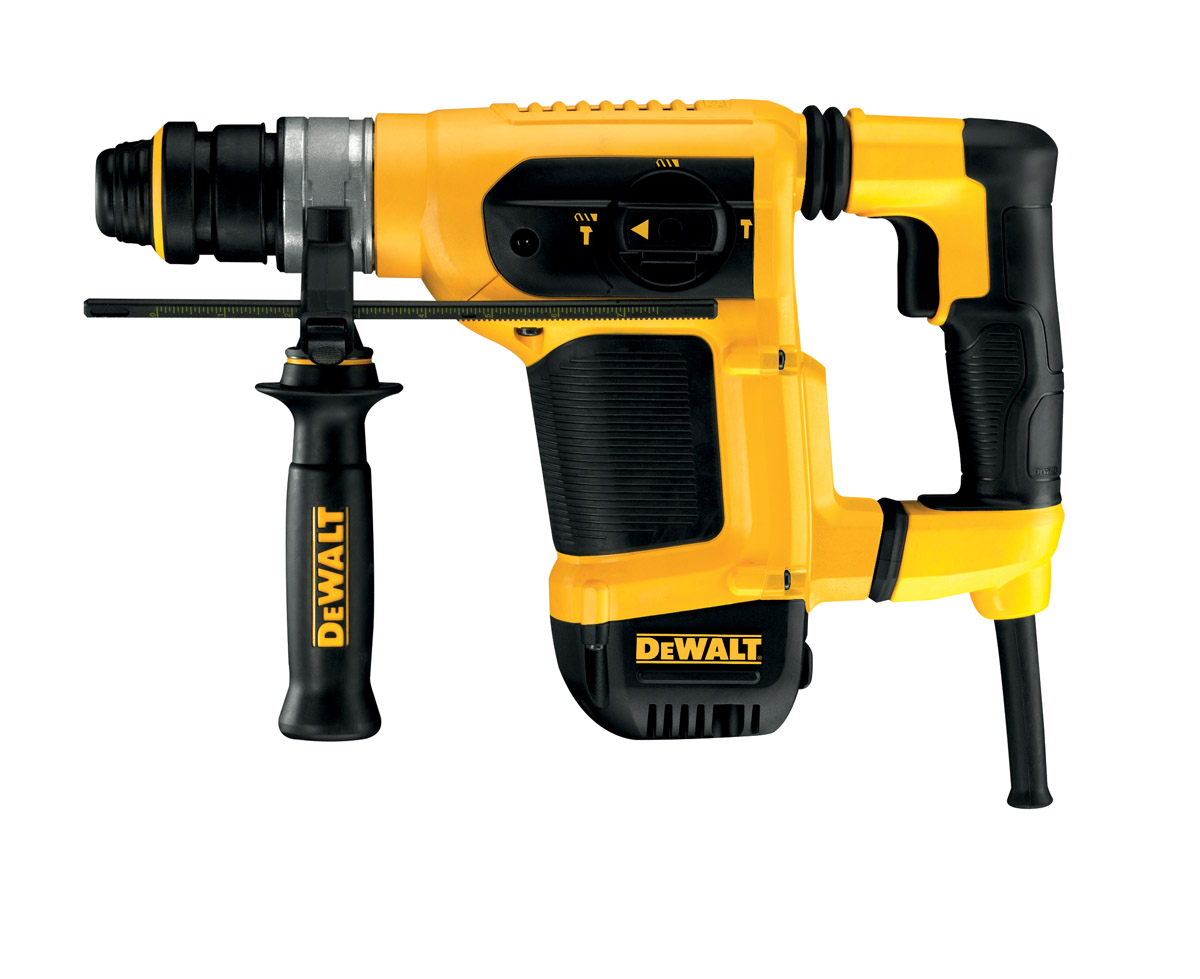 DeWALT D25413K-LX - 32mm Heavy Duty SDS Plus Combination Hammer 110V