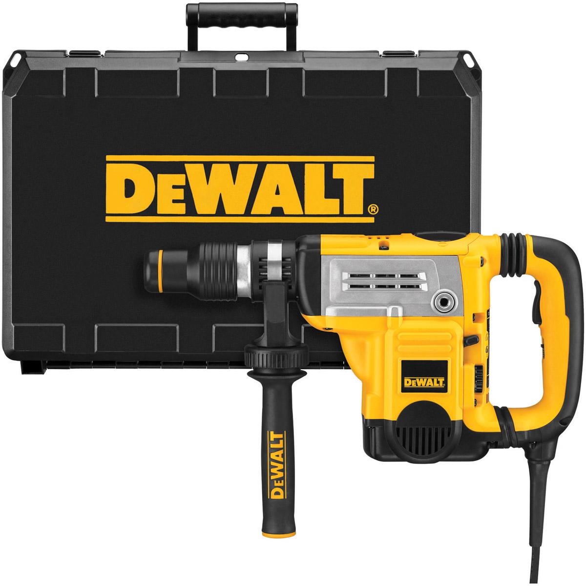DeWALT D25603K-LX - 6KG SDS Max Comb. Hammer AVC & UTC 45mm 110V