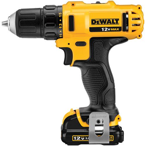 DeWALT DCD710C2P-B5 - 12V  XR Li-Ion Compact  Drill Driver Kit