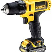 DeWALT DCD771S2-GB - 18V XR Li-Ion Compact Drill Driver, 1.5Ah, 13mm, 2 Speed 220V