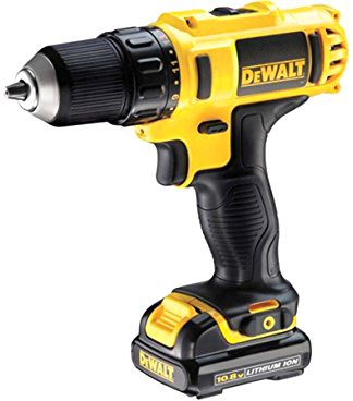 DeWALT DCD771S2-GB - 18V XR Li-Ion Compact Drill Driver, 1.5Ah, 13mm, 2 Speed, 220V
