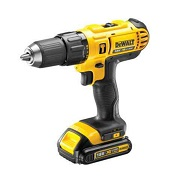 DeWALT DCD776S2A-B5 - 18V XR Li-Ion 13mm Compact Hammer Drill Driver with D71563 Drill Bit/Screw bit set