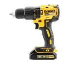 DeWALT DCD778S2-GB - 18V; XR Li-Ion Brushless Compact Hammer Drill 1.5Ah; 13mm; 2 Speed; 220V