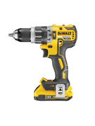 DeWALT DCD796D2-GB - 18V XR Li-Ion Brushless 13mm Compact Hammer Drill Driver