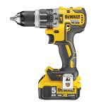 DeWALT DCD796P2-GB - 18V XR 5.0Ah Li-Ion Brushless 13mm Compact Hammer Drill Driver