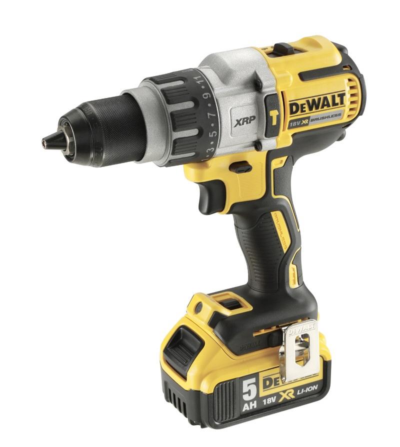 DeWALT DCD996P2-GB - 18V XR Li-Ion Brushless Premium 13mm Hammer Drill Driver