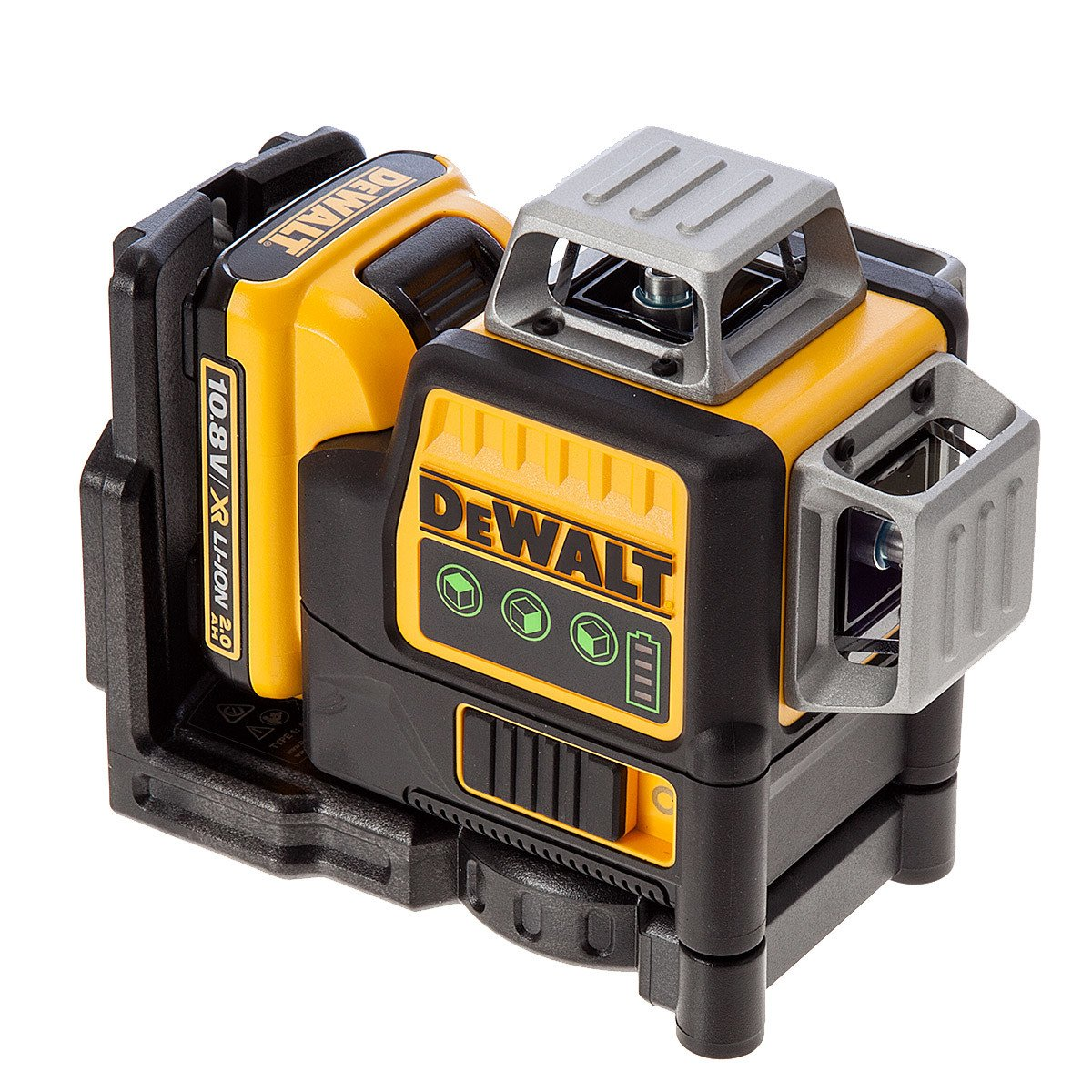DeWALT DCE089D1G-GB - 10.8V Self Level Multi Line Laser Green