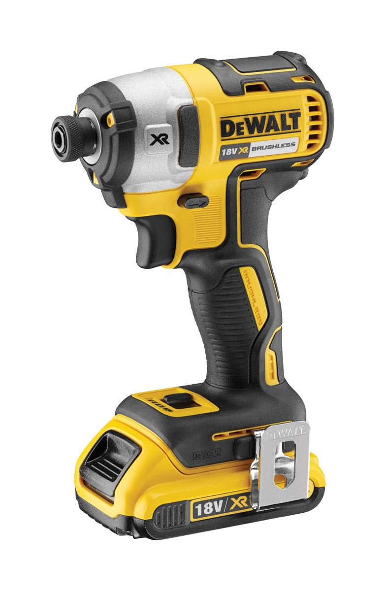 DeWALT DCF887P2-GB - 18V XR Lithium Ion Brushless 1/4-inch Impact Driver 5.0Ah