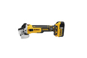 DeWALT DCG405P2-GB - 18V; 5in Brushless Grinder; 5Ah; 220V
