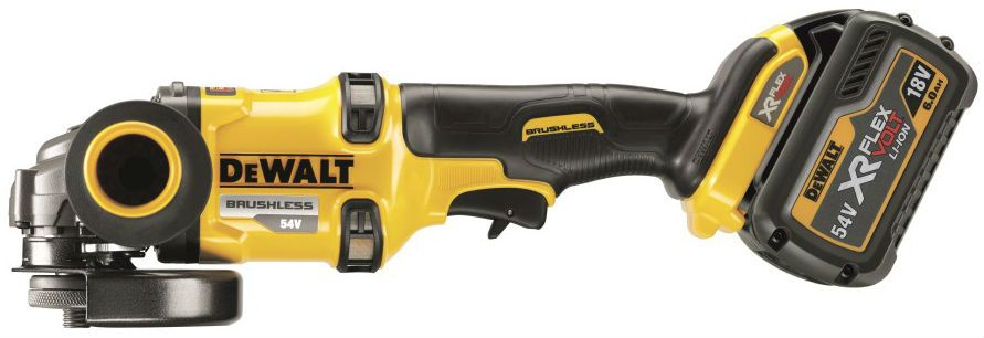 DeWALT DCG414T2-GB - 54V XR Flex Volt 125MM Angle Grinder Kit