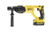 DeWALT DCH133M1-GB - 18V XR SDS + Brushless Hammer 4Ah
