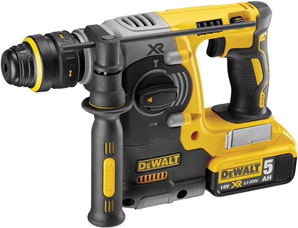 DeWALT DCH273P2-GB - 18V XR Li-Ion Brushless 3 Mode Dedicated Cordless Hammer