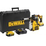 DeWALT DCH275P2-GB - XR Li-Ion Brushless Cordless Hammer W/Dust Extractor; 3 Modes; 4Ah; 1200rpm; 220V
