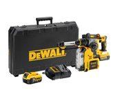 DeWALT DCH275P2-GB - XR Li-Ion Brushless Cordless Hammer W/Dust Extractor; 3 Modes; 4Ah; 1200rpm; 220V